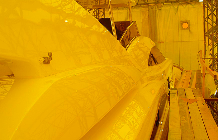 BenyMar Yachtpaint has worked for the ASTILLEROS ASTONDOA