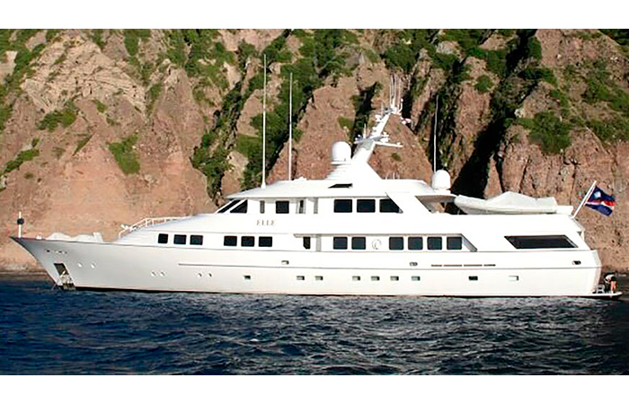 BenyMar Yachtpaint has worked for the M/Y SEA FALCON