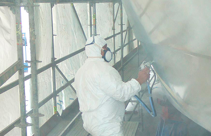 BenyMar Yachtpaint has worked for the PROYECTO ALICANTE